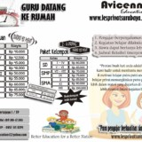 LES PRIVAT SURABAYA – AVICENNA EDUCATION